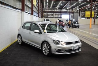 2014 Volkswagen Golf VII MY14 103TSI DSG Highline Silver 7 Speed Sports Automatic Dual Clutch