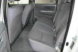 2010 Toyota Hilux KUN26R MY10 SR5 White 5 Speed Manual Utility