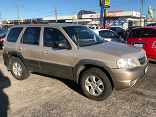 2001 Mazda Tribute Limited Gold 4 Speed Automatic Wagon