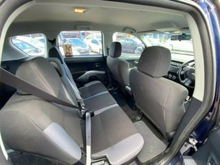 2010 Mitsubishi Outlander ZH MY11 LS 2WD Sapphire 6 Speed Constant Variable Wagon