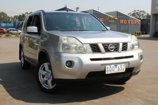 2009 Nissan X-Trail T31 MY10 TS (4x4) Silver 6 Speed Manual Wagon.