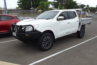 2018 Nissan Navara D23 S3 RX White 6 Speed Manual Cab Chassis