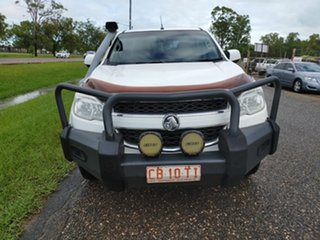 2013 Holden Colorado RG MY13 LX Crew Cab White 5 Speed Manual Utility.