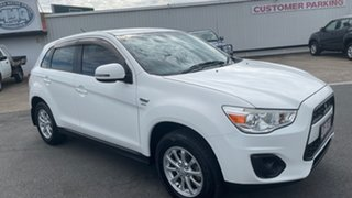 2012 Mitsubishi ASX XB MY13 2WD White 6 Speed Constant Variable Wagon