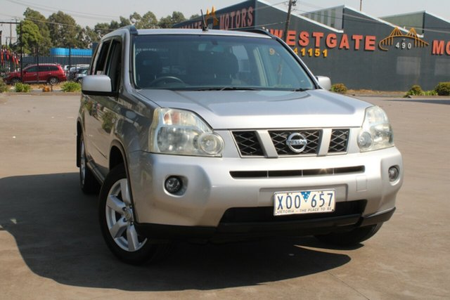 Used Nissan X-Trail T31 MY10 TS (4x4) West Footscray, 2009 Nissan X-Trail T31 MY10 TS (4x4) Silver 6 Speed Manual Wagon