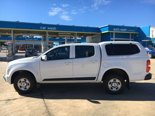 2014 Holden Colorado RG MY15 LS Crew Cab 4x2 White 6 Speed Sports Automatic Utility