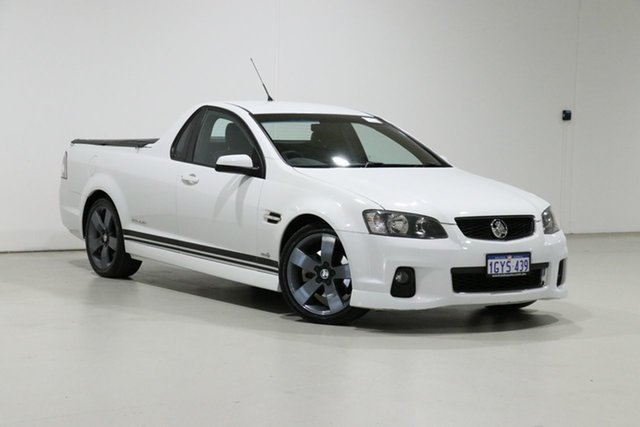 Used Holden Commodore VE II MY12 SS Thunder Bentley, 2012 Holden Commodore VE II MY12 SS Thunder White 6 Speed Automatic Utility
