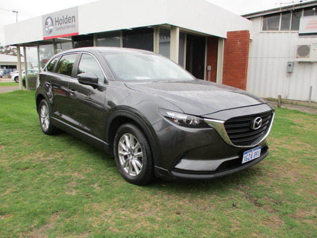 Used Mazda CX-9 MY16 Sport (FWD) Katanning, 2017 Mazda CX-9 MY16 Sport (FWD) Graphite 6 Speed Automatic Wagon