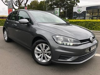 2019 Volkswagen Golf 7.5 MY19.5 110TSI DSG Trendline Grey 7 Speed Sports Automatic Dual Clutch.