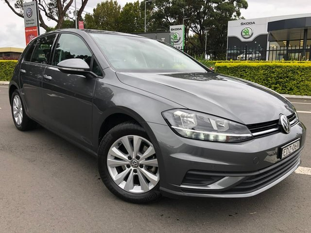 Used Volkswagen Golf 7.5 MY19.5 110TSI DSG Trendline Botany, 2019 Volkswagen Golf 7.5 MY19.5 110TSI DSG Trendline Grey 7 Speed Sports Automatic Dual Clutch