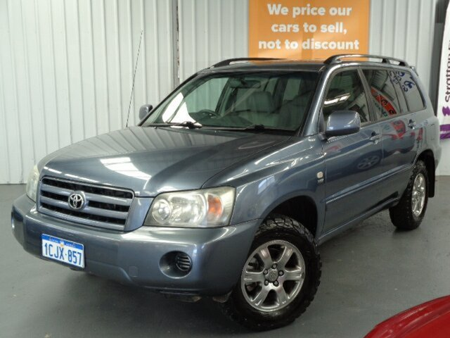 Used Toyota Kluger MCU28R MY06 CV AWD Rockingham, 2006 Toyota Kluger MCU28R MY06 CV AWD Blue 5 Speed Automatic Wagon