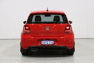 2012 Volkswagen Polo 6R MY12 Update GTi Red 7 Speed Auto Direct Shift Hatchback