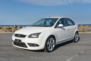 2007 Ford Focus LT TDCi White 6 Speed Manual Hatchback