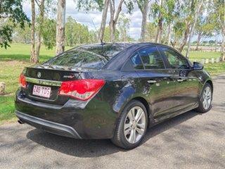 2013 Holden Cruze JH Series II MY14 SRi-V Black 6 Speed Sports Automatic Sedan.