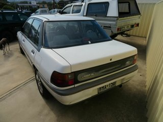 1992 Ford Laser White 5 Speed Manual Hatchback