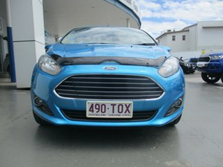 2014 Ford Fiesta WZ Trend Blue 5 Speed Manual Hatchback