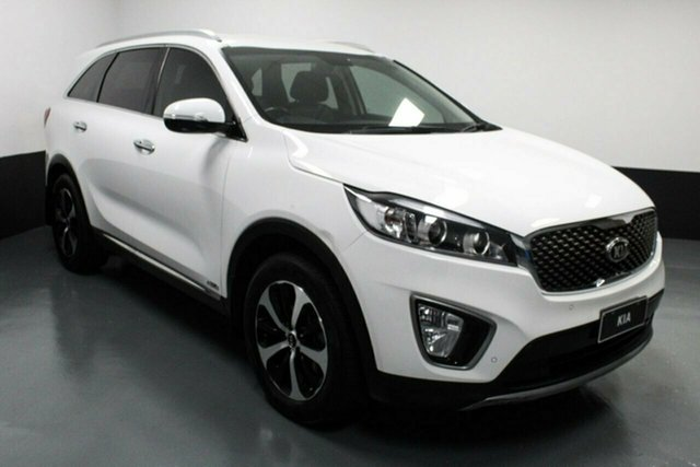 Used Kia Sorento UM MY16 SLi AWD Rutherford, 2016 Kia Sorento UM MY16 SLi AWD White 6 Speed Sports Automatic Wagon