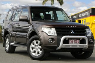 2010 Mitsubishi Pajero NT MY10 Activ Ironbark 5 Speed Sports Automatic Wagon.