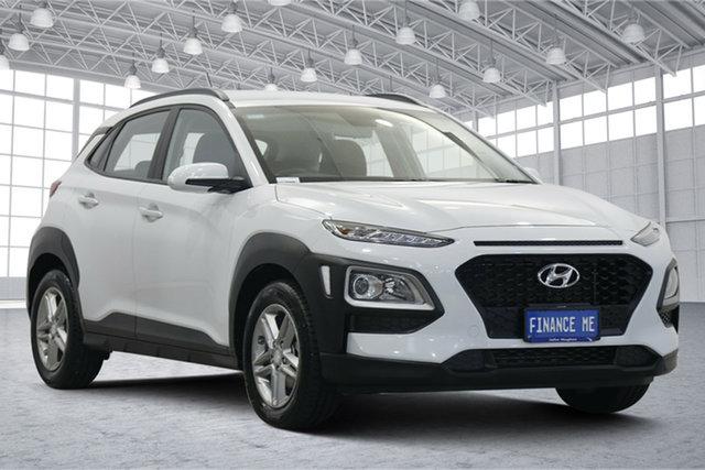 Used Hyundai Kona OS.3 MY20 Active 2WD Victoria Park, 2020 Hyundai Kona OS.3 MY20 Active 2WD White 6 Speed Sports Automatic Wagon