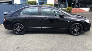 2008 Honda Civic 8th Gen MY08 VTi Black 5 Speed Automatic Sedan.