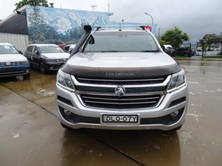 2017 Holden Colorado RG MY17 LTZ Pickup Crew Cab Silver 6 Speed Automatic Utility