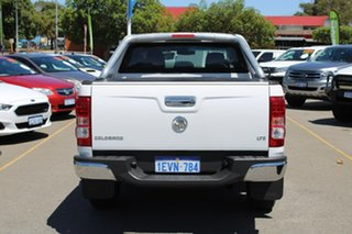 2014 Holden Colorado RG MY14 LTZ Crew Cab 4x2 White 6 Speed Manual Utility