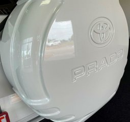 2007 Toyota Landcruiser Prado KDJ120R Grande White 5 Speed Automatic Wagon