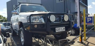 2008 Nissan Patrol GU VI ST (4x4) White 5 Speed Manual Wagon