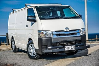 2017 Toyota HiAce KDH201R LWB White 4 Speed Automatic Van.