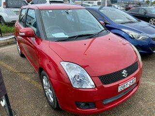 2009 Suzuki Swift RS415 Extreme Red 5 Speed Manual Hatchback.