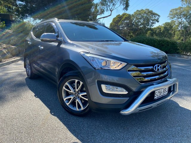 Used Hyundai Santa Fe DM MY14 Elite Totness, 2014 Hyundai Santa Fe DM MY14 Elite Titanium Silver 6 Speed Sports Automatic Wagon