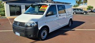 2014 Volkswagen Transporter T5 MY14 TDI340 LWB DSG White 7 Speed Sports Automatic Dual Clutch Van