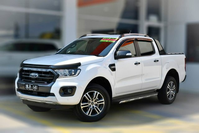 Used Ford Ranger PX MkIII 2020.25MY Wildtrak Berwick, 2020 Ford Ranger PX MkIII 2020.25MY Wildtrak White 6 Speed Sports Automatic Double Cab Pick Up