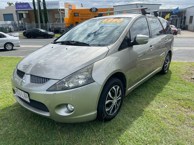 Used Mitsubishi Grandis BA MY06 Clontarf, 2005 Mitsubishi Grandis BA MY06 Gold 4 Speed Sports Automatic Wagon