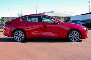 2021 Mazda 3 BP2S7A G20 SKYACTIV-Drive Touring Red 6 Speed Sports Automatic Sedan