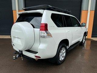 2012 Toyota Landcruiser Prado KDJ150R Altitude White 5 Speed Sports Automatic Wagon