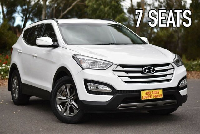Used Hyundai Santa Fe DM MY13 Active Melrose Park, 2013 Hyundai Santa Fe DM MY13 Active White 6 Speed Sports Automatic Wagon