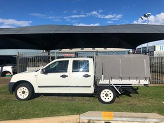2007 Holden Rodeo RA MY07 LX White 5 Speed Manual Crew Cab Pickup.