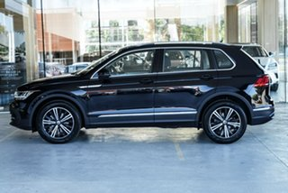 2021 Volkswagen Tiguan 5N MY21 110TSI Life DSG 2WD Black 6 Speed Sports Automatic Dual Clutch Wagon