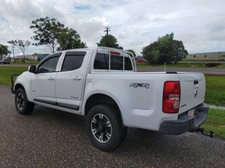 2013 Holden Colorado RG MY13 LX Crew Cab White 5 Speed Manual Utility