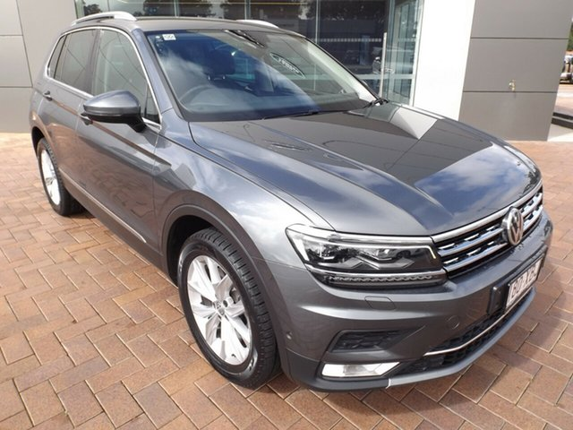 Used Volkswagen Tiguan 5N MY17 162TSI DSG 4MOTION Highline Toowoomba, 2016 Volkswagen Tiguan 5N MY17 162TSI DSG 4MOTION Highline 7 Speed Sports Automatic Dual Clutch