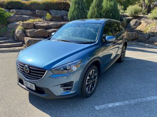 2017 Mazda CX-5 KE1022 Akera SKYACTIV-Drive i-ACTIV AWD Blue 6 Speed Sports Automatic Wagon