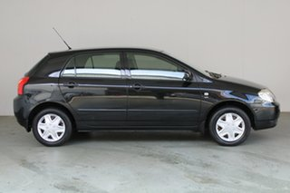 2003 Toyota Corolla ZZE122R Ascent Black 5 Speed Manual Hatchback