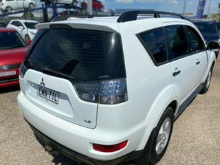2010 Mitsubishi Outlander ZH MY11 LS White 6 Speed Constant Variable Wagon