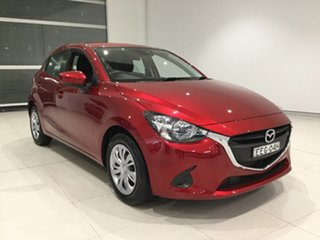 2019 Mazda 2 DJ2HAA Neo SKYACTIV-Drive Soul Red 6 Speed Sports Automatic Hatchback.