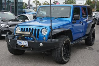 2014 Jeep Wrangler JK MY2014 Unlimited Sport Blue 5 Speed Automatic Softtop
