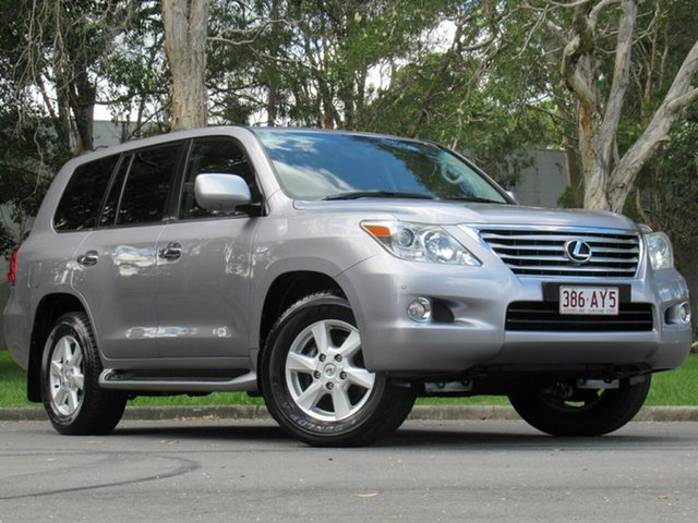 Used Lexus LX URJ201R LX570 Prestige, 2008 Lexus LX URJ201R LX570 Prestige Grey 6 Speed Sports Automatic Wagon