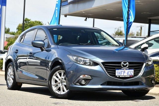 Used Mazda 3 BM5478 Maxx SKYACTIV-Drive Melville, 2015 Mazda 3 BM5478 Maxx SKYACTIV-Drive Blue 6 Speed Sports Automatic Hatchback