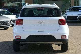 2021 Hyundai Venue QX.V3 MY21 Polar White 6 Speed Manual Wagon
