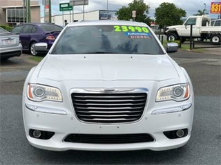 2012 Chrysler 300 LX C White 5 Speed Sports Automatic Sedan.
